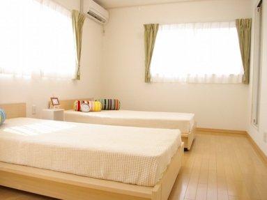 写真:寝室