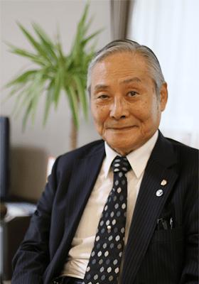 写真:日総建株式会社代表福田安雄
